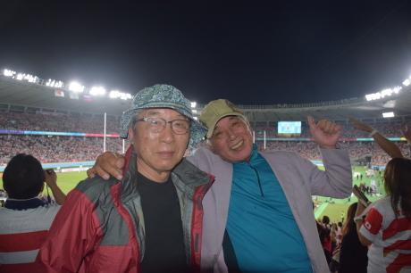2019年9月20日ラグビーワールドカップ、日本対ロシアを見て感激_c0242406_10592732.jpg