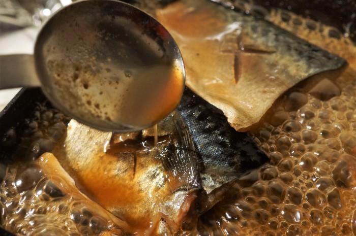 ■晩ご飯・和食【真サバの味噌煮レシピ】_b0033423_23392038.jpg