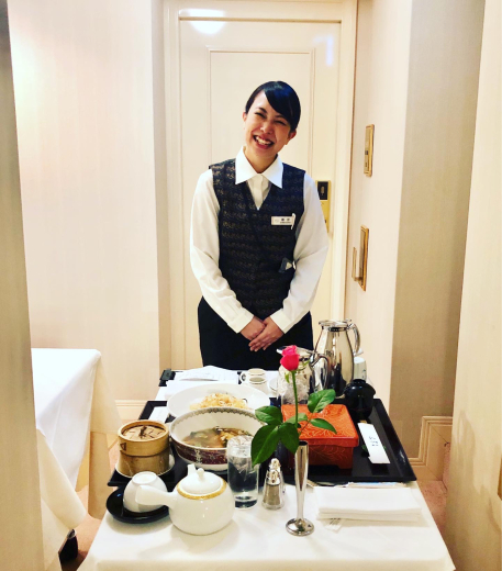 ディナーはルームサービスよね @帝国ホテル_f0215324_00222143.jpg