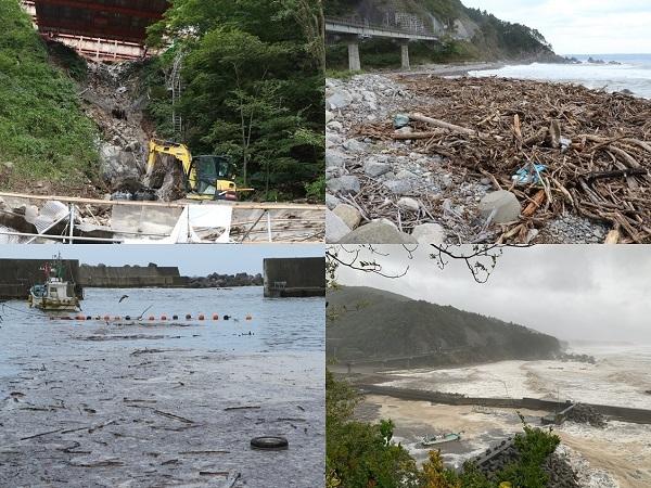 台風19号 野田村も復旧作業中!_c0259934_11113037.jpg