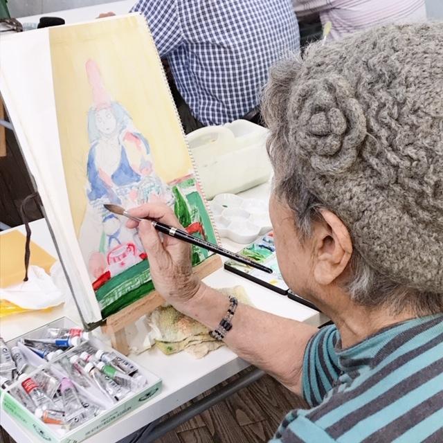 歌声サロン&水彩画教室_c0113948_15123135.jpg