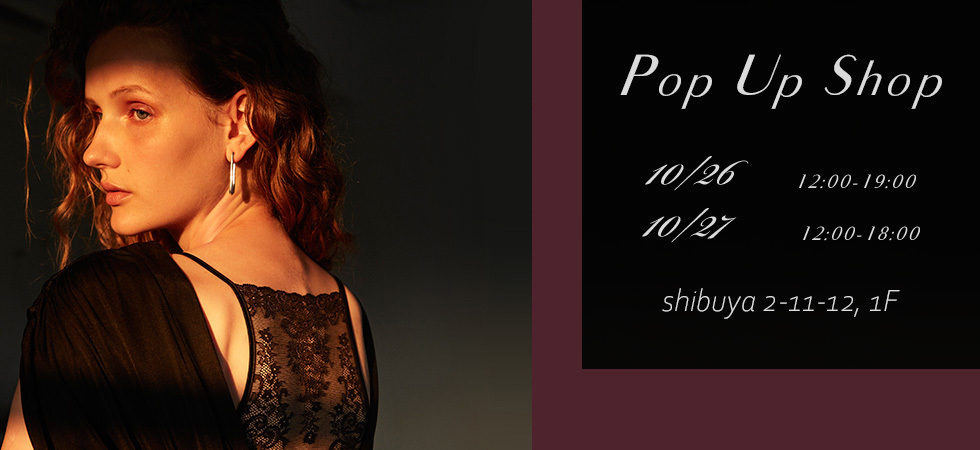 Pop Up Shop OPEN☆彡 10/26-27 _e0219353_16424838.jpg