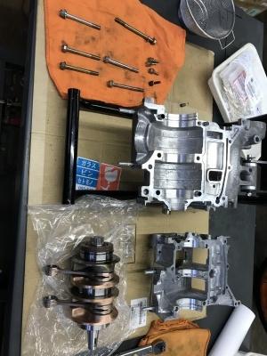 MC21 エンジン・車体 OH ⓶_e0114857_11160628.jpg
