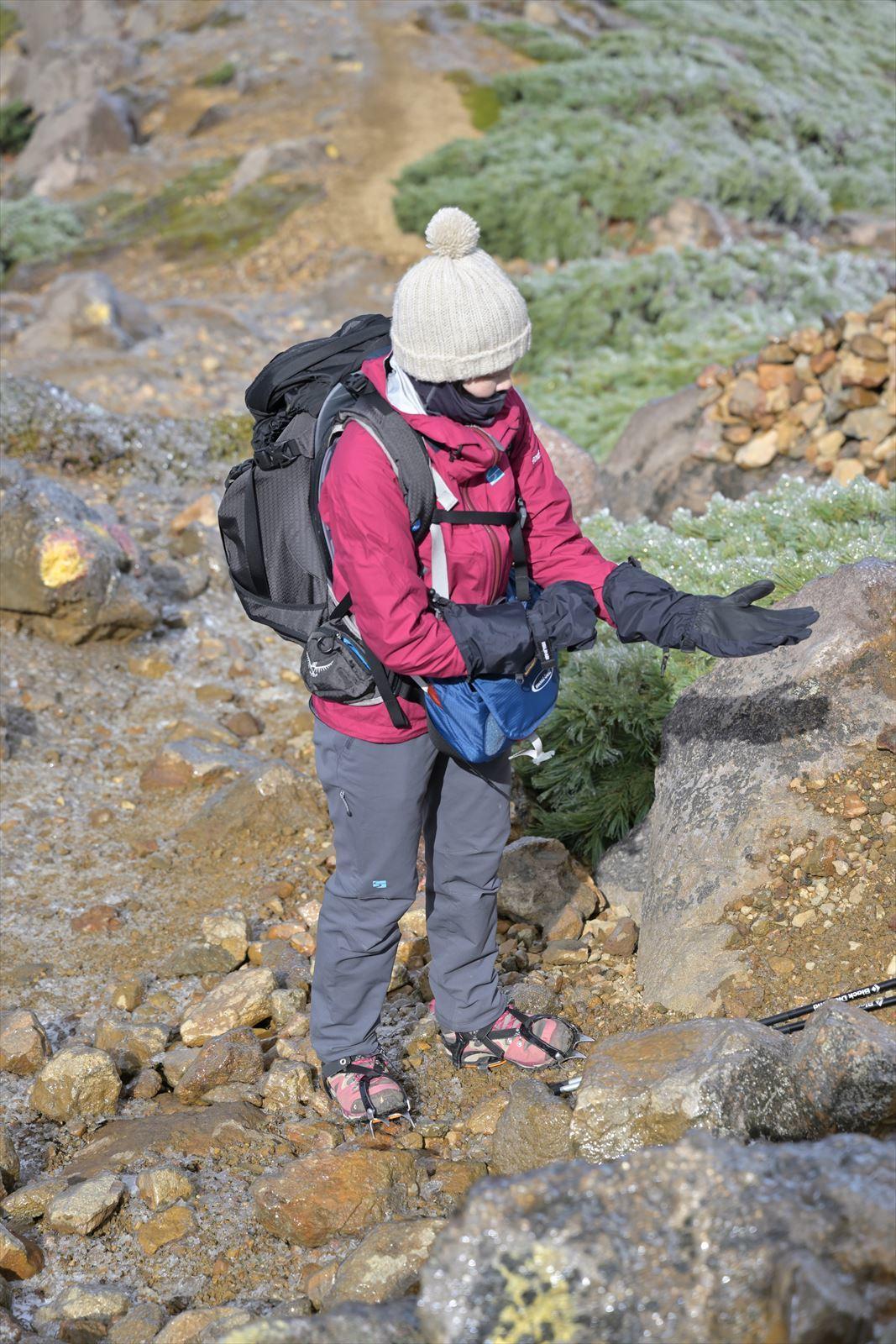 久しぶりに雌阿寒岳の山頂へ!_b0281366_20010351.jpg