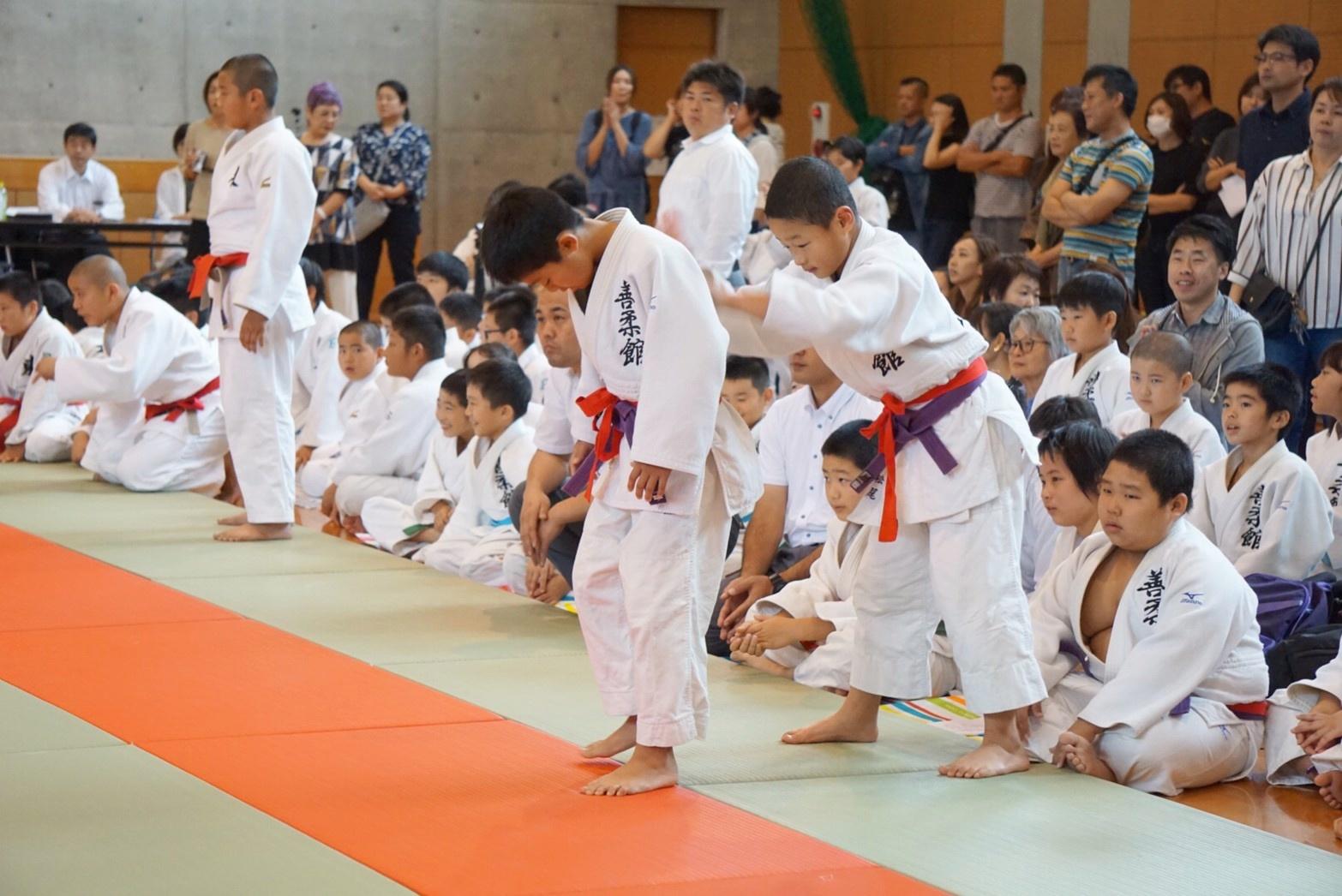 2019  櫛田神社秋季大祭奉納少年柔道大会_b0172494_22292775.jpg