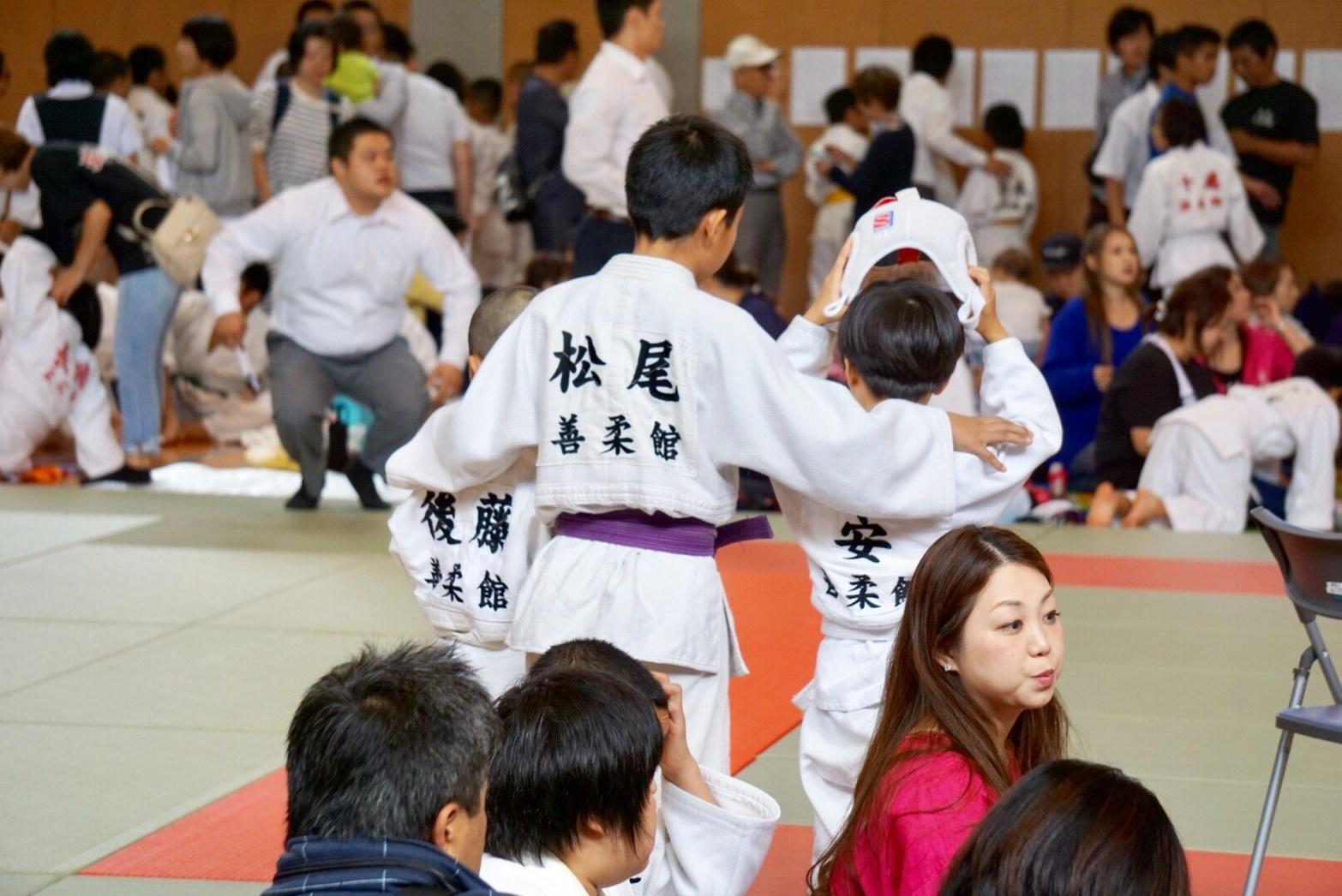 2019  櫛田神社秋季大祭奉納少年柔道大会_b0172494_22335857.jpg