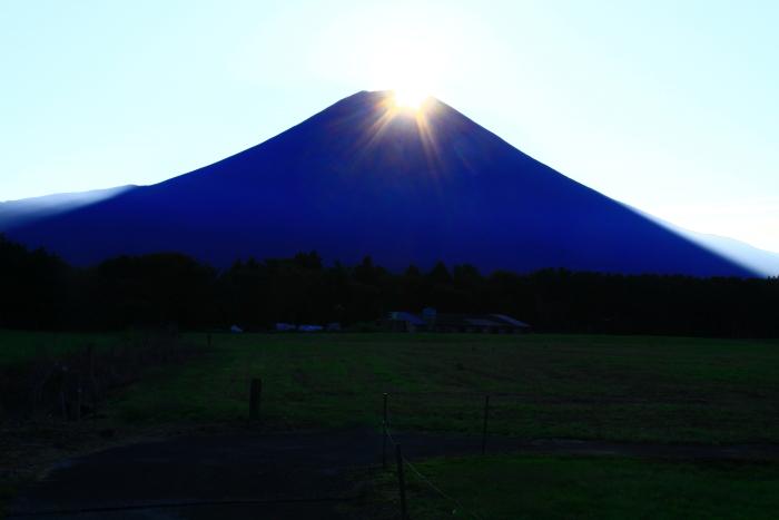 令和元年10月の富士(12)朝霧高原ダイヤモンド富士_e0344396_14052794.jpg