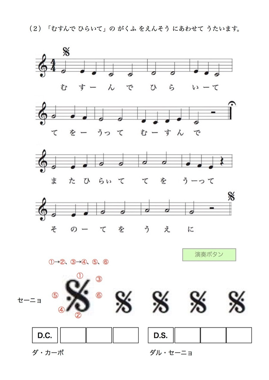 <お母さんと幼児の為の楽典>-31 「楽譜を書こう-5」_d0016397_01061758.jpg