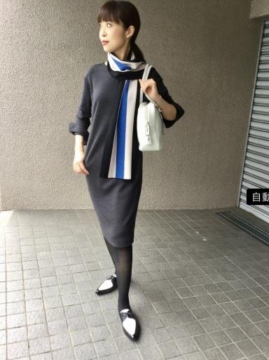 りえさん着画集・ウールワンピース_b0210699_23384111.jpeg