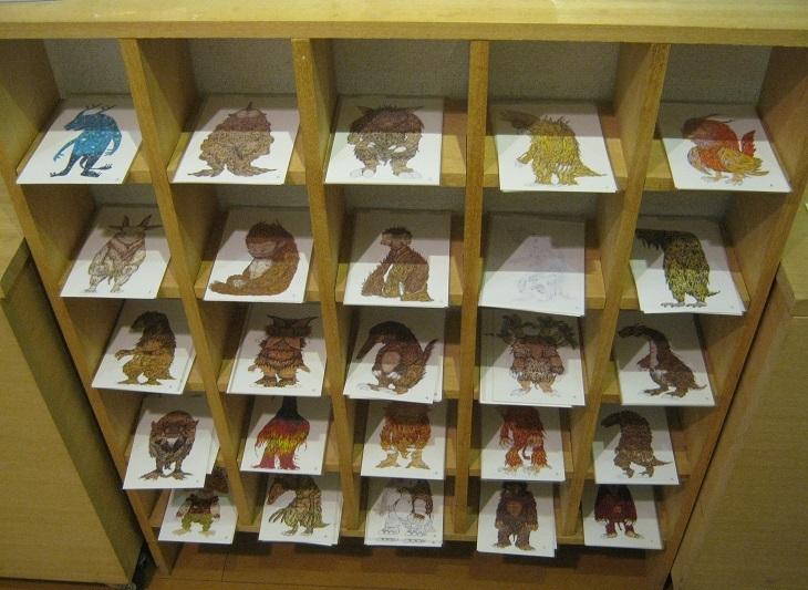 たまごの工房監修「 帰ってきた怪獣図鑑展 」その3_e0134502_19164367.jpg