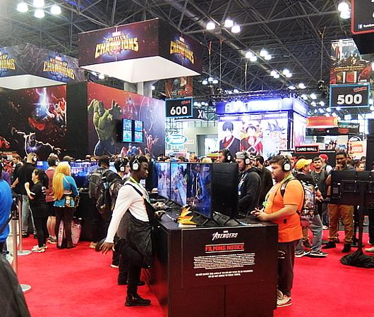 NYCC2019、米国ゲーム業界、激動の1年を反映するゲーム関連ブースいろいろ_b0007805_06294299.jpg