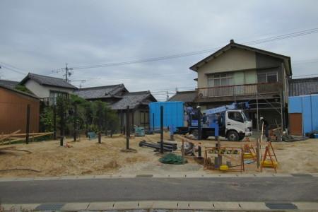 「駒場の家」杭工事_b0179213_20141111.jpg