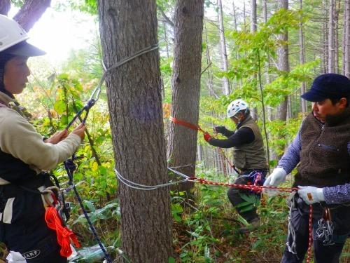 登山案内人の実技講習に行ってきました~。_a0353718_17064087.jpg