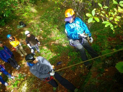 登山案内人の実技講習に行ってきました~。_a0353718_17065315.jpg
