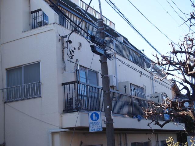 渋谷区栄和HS賃貸マンションのセットバック。_a0214329_23151969.jpg