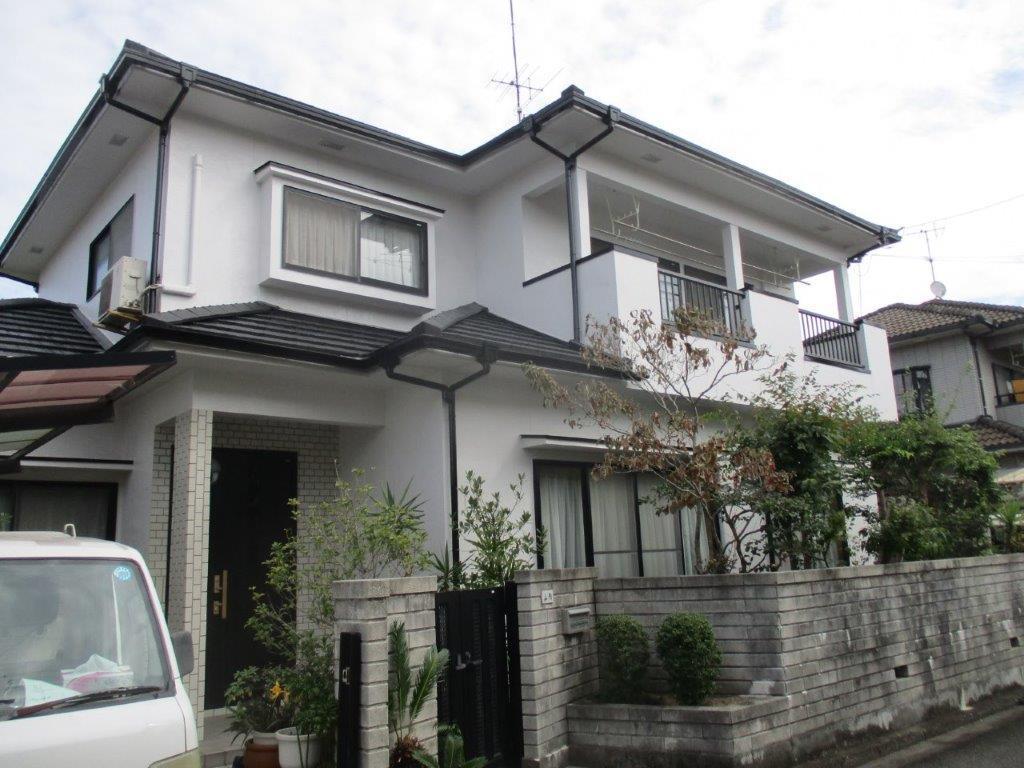 松山市 Y様邸 外壁塗装工事_a0167735_13110702.jpg