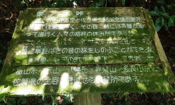 国見山・・九州自然歩道、栗ノ木峠_e0164643_14350409.jpg
