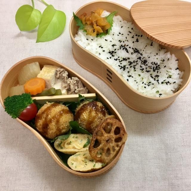 lunch box  母と夫へ_a0165160_18124610.jpg