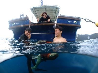「体験ダイビング&イルカ!」_b0033573_19230616.jpg