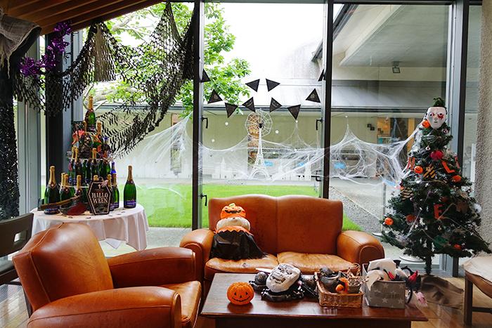 箱根ラリック美術館レストラン『カフェ・レストラン リス』のハロウィン_b0145398_23021918.jpg