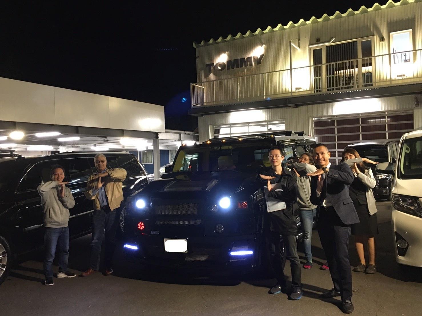 10月18日★N様ハマーH2納車★✨✨ ランクル ハマー LX570 エスカレード ♡TOMMY♡_b0127002_19175010.jpg