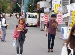 阪大生は森友事件を忘れない ―大阪大学前宣伝より― _c0133503_12313709.jpg