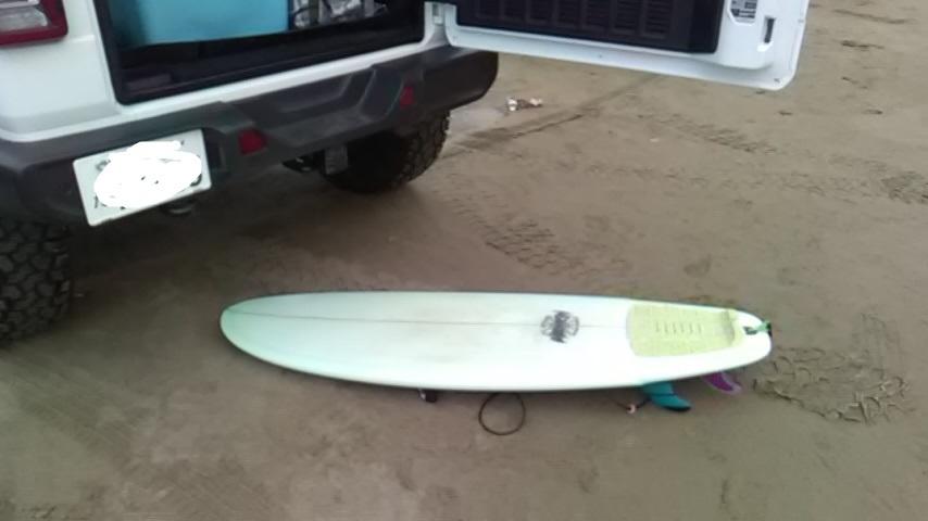 JL ラングラー でNewボード積んで、海にサーフィン行ってきました_b0123820_13302616.jpg