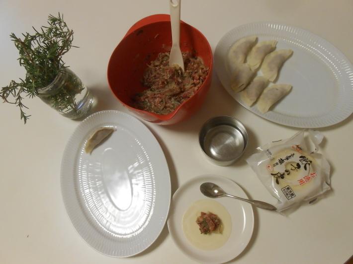 ラム餃子にはローズマリーが欠かせない。奥野田ロッソに合わないわけがない。_a0095931_09483987.jpg