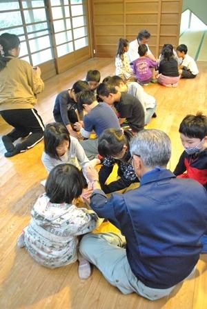 小学生、秋の環境学習_a0123836_16171964.jpg