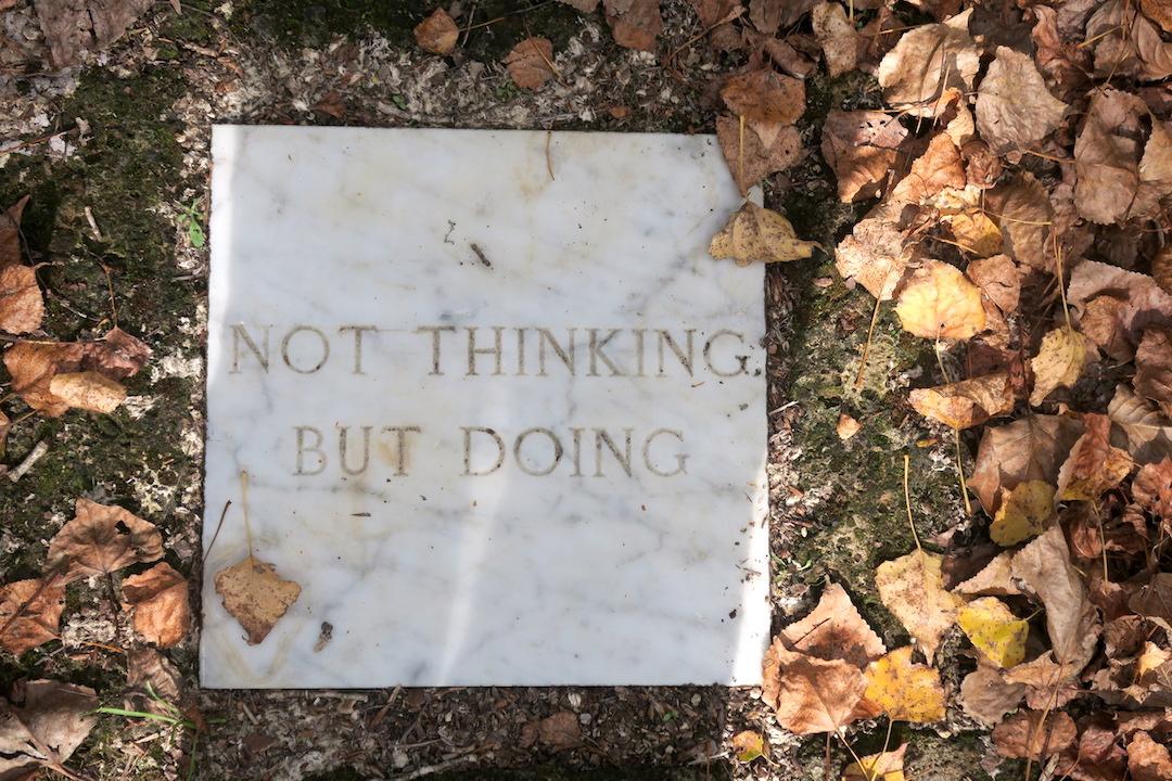 思うより動けと誘うか瞑想の森、Il Bosco della Ragnaia 3_f0234936_874517.jpg