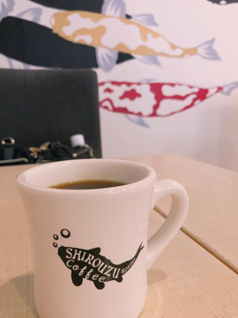 警固カフェ シロウズコーヒーのモーニングコーヒー_f0140145_09440760.jpg