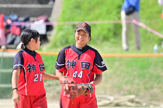 2019和歌山全中3日目 神田VS神村学園_b0249247_20432554.jpg