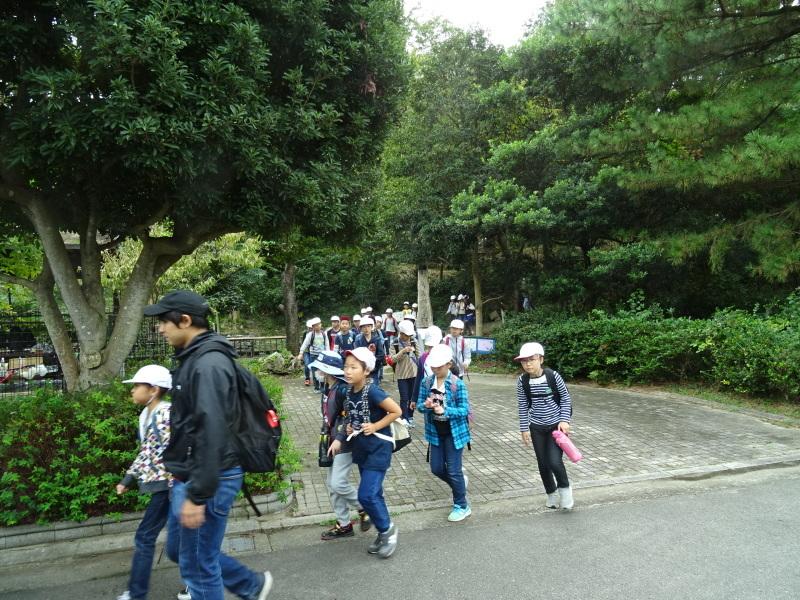 岸和田市立東光小学校4年生遠足サポート・・・うみべの森_c0108460_17492982.jpg