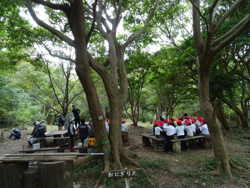 泉南市立鳴滝小学校2年生遠足サポート・・・うみべの森_c0108460_18054362.jpg