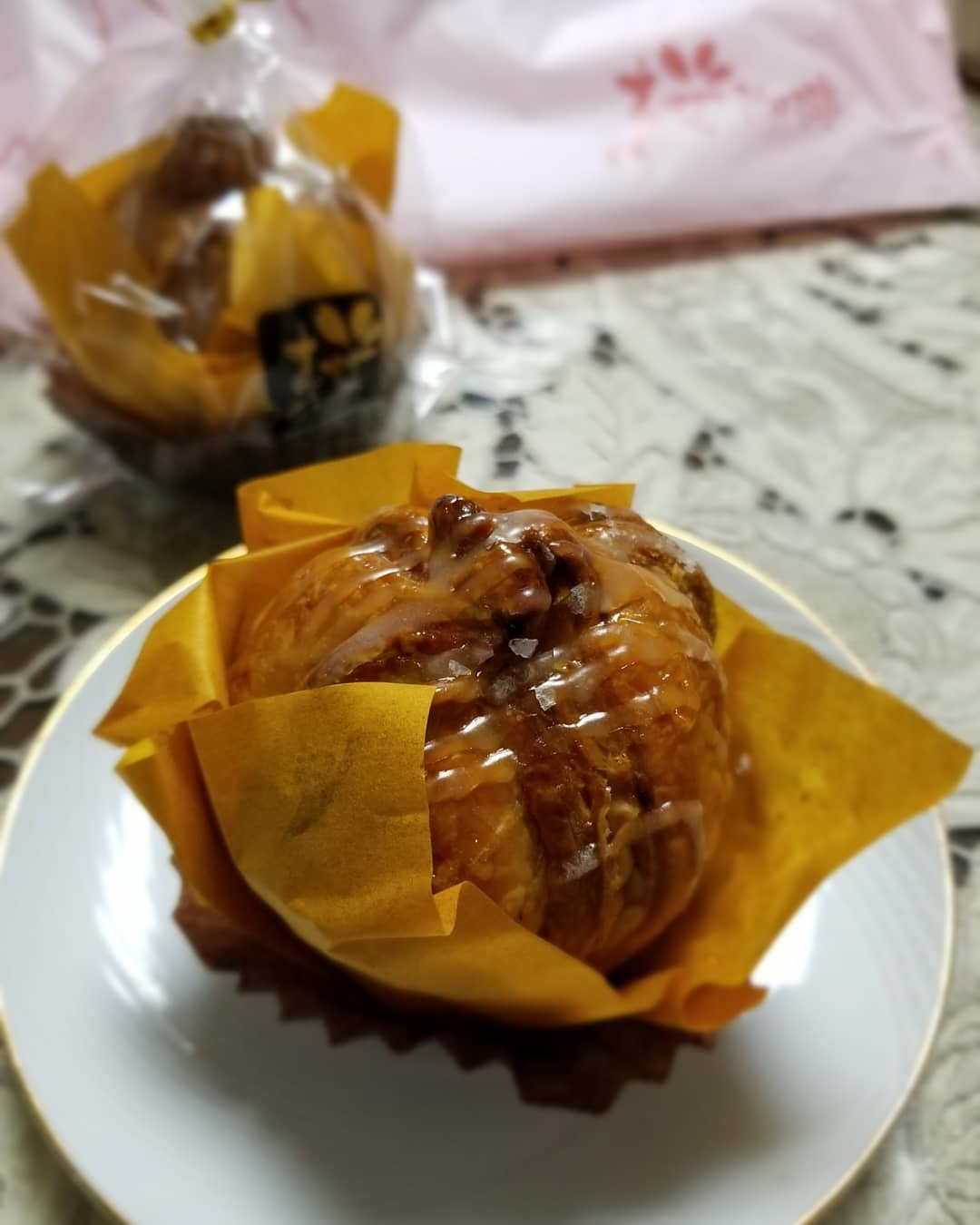 桜珈琲 SAKURA COFFEE * ケーキセットと秋限定のまろんパイ♪_f0236260_21474409.jpg