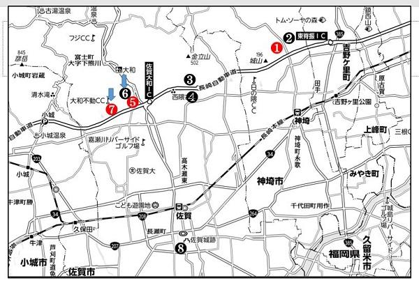 熊襲タケルが逃げ込んだ真手山へ ここは大和町 神崎~佐賀市 3_c0222861_2150824.jpg