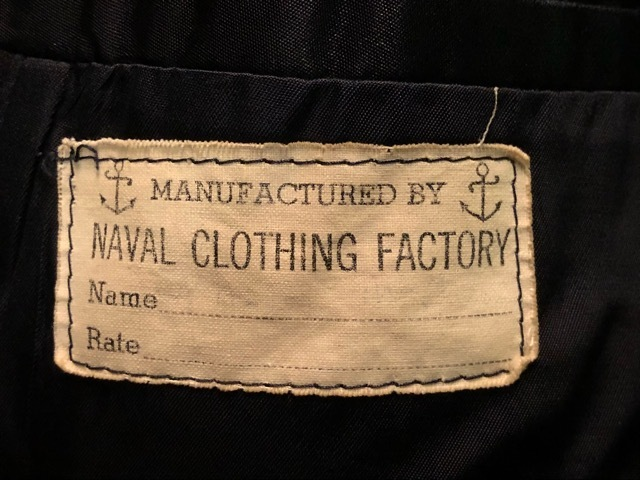 30\'s~40\'s U.S.Navy 10-Button P-Coat!!(マグネッツ大阪アメ村店)_c0078587_15395927.jpg