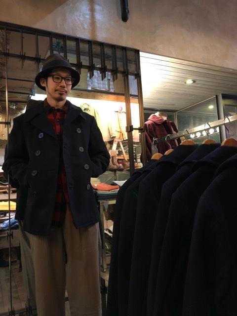 30\'s~40\'s U.S.Navy 10-Button P-Coat!!(マグネッツ大阪アメ村店)_c0078587_15432368.jpg