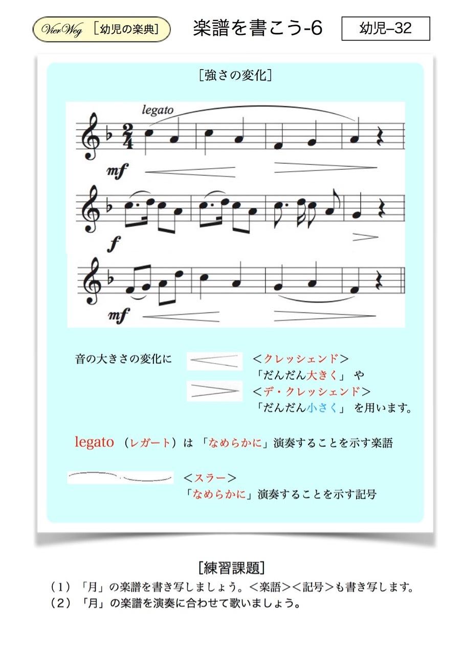 <お母さんと幼児の為の楽典>-32 「楽譜を書こう-6」_d0016397_19280037.jpg