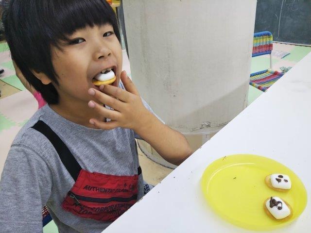 10月9日 Snack cooking_c0315908_10310049.jpg