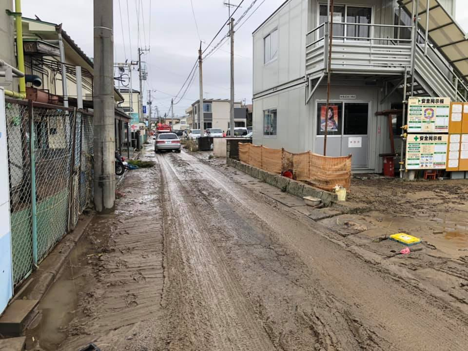 『台風19号 郡山市内 水害 13時』_f0259324_12595825.jpg