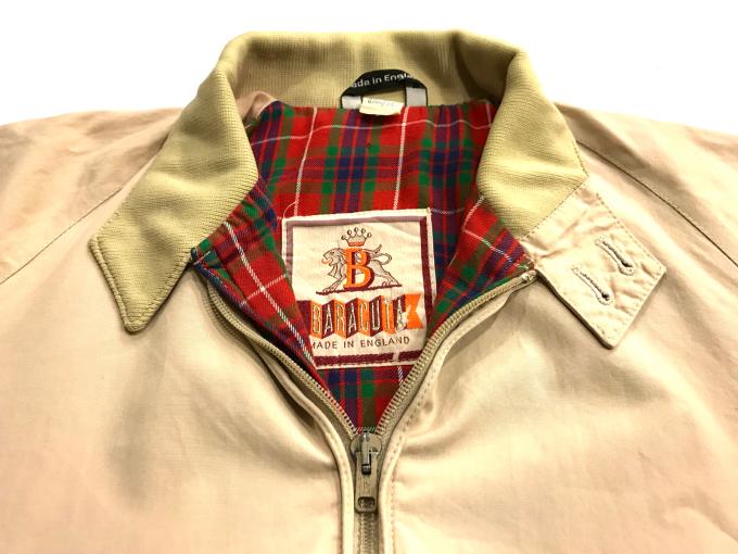 「 今週末のお勧め商品 BARACUTA & SLACKS 」_c0078333_20113062.jpg