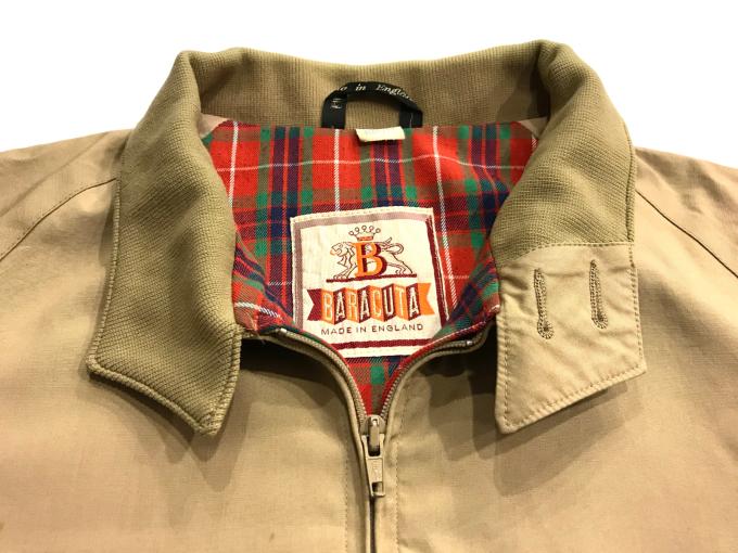 「 今週末のお勧め商品 BARACUTA & SLACKS 」_c0078333_20123637.jpg