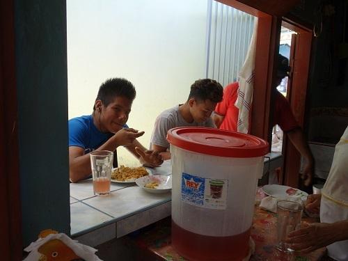 ユリマグアス市場でSUDADO DE PESCADO:魚のシチュー_c0030645_12185988.jpg