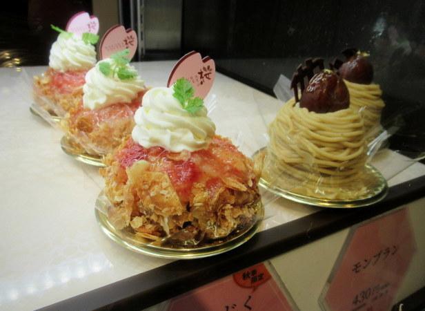 桜珈琲 SAKURA COFFEE * ケーキセットと秋限定のまろんパイ♪_f0236260_23315372.jpg