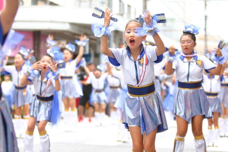 第66回よさこい祭り 本番2日目 愛宕競演場 サニーグループよさこい踊り子隊SUNNYS その4_a0077663_17242052.jpg