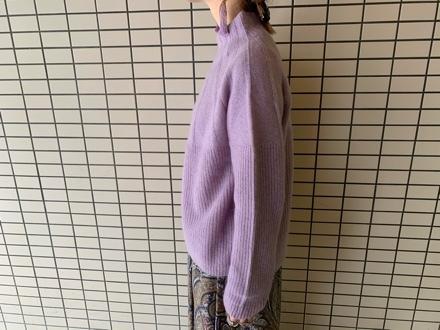 QTUME☆YAK WOOL Hineck Knit☆_e0269968_12424608.jpg