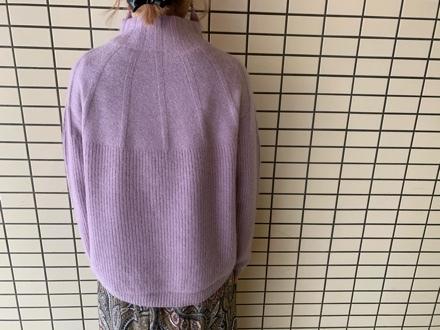 QTUME☆YAK WOOL Hineck Knit☆_e0269968_12425058.jpg