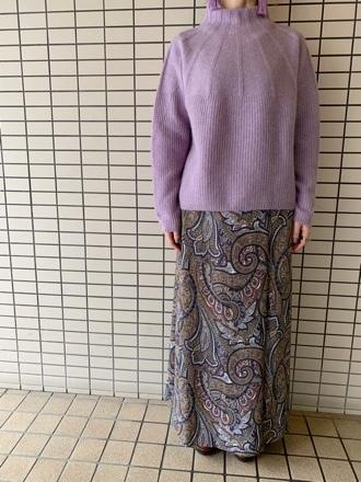 QTUME☆YAK WOOL Hineck Knit☆_e0269968_12425344.jpg