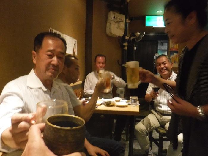 ◆ジオ会 ~昔の仲間が集まれば酒が進む進む♪~_f0238779_20450596.jpg
